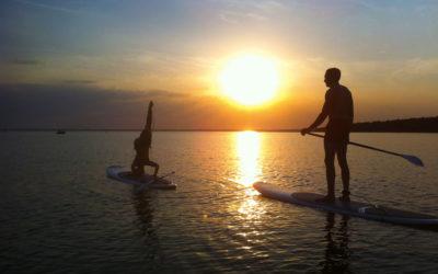 Sortie en paddle à Arcachon et Sanguinet